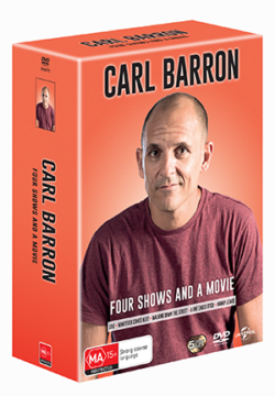 Carl Barron – Four Shows and A Movie