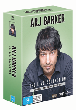 Arj Barker – The Live Collection Boxset