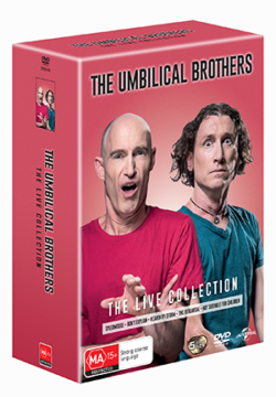 The Umbilical Brothers – The Live Collection Boxset