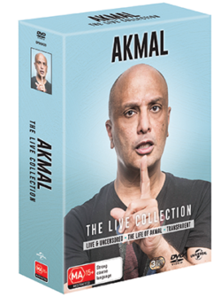 D_Akmal – The Live Collection