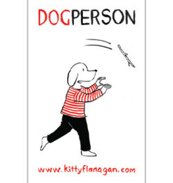 M_KITTY FLANAGAN – DOG PERSON TEATOWEL